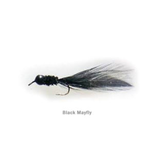 Lead Free Jig - Black Mayfly