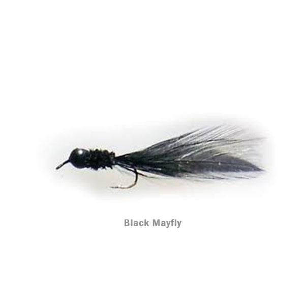 Lead Free Jig - Black Mayfly