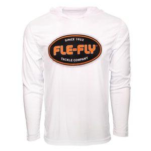 Fle-Fly Long Sleeve Crew Neck Hoodie Tee